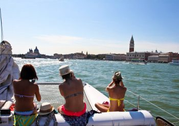 catamaran boat excursion things to do Chioggia Venice Lagoon