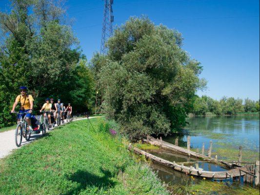 bici da Treviso a Portegrandi