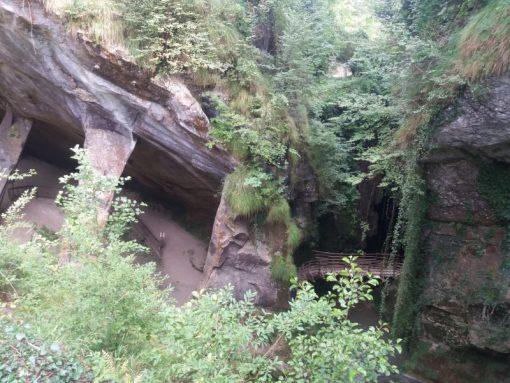 grotte del caglieron escursioni